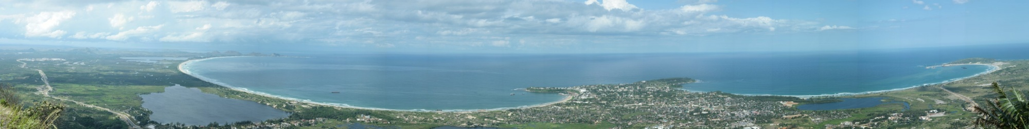 Fort Dauphin panorama.