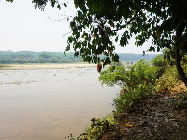 Sambirano River crossing by foot 002.jpg