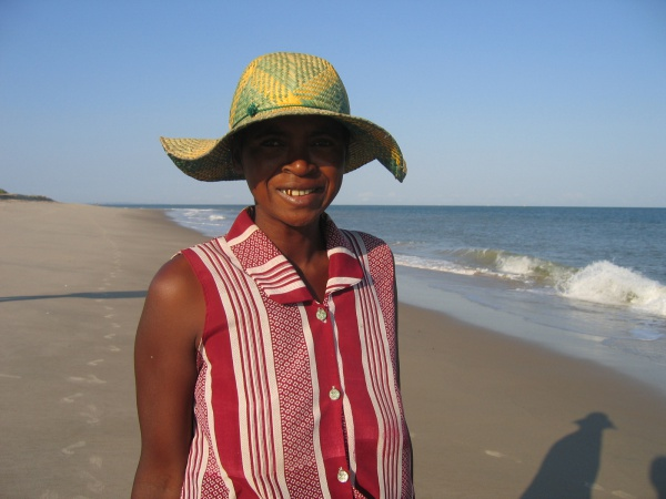 Woman on Mahajanga Beach.jpg